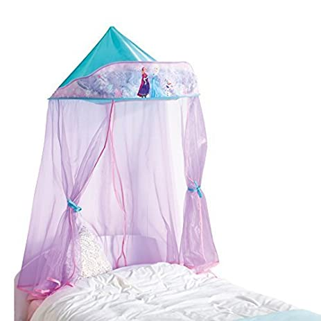 Disney Frozen Kids Bed Canopy For Single Bed and Toddler Bed by Disney Frozen  sc 1 st  Amazon.com & Amazon.com: Disney Frozen Kids Bed Canopy For Single Bed and ...