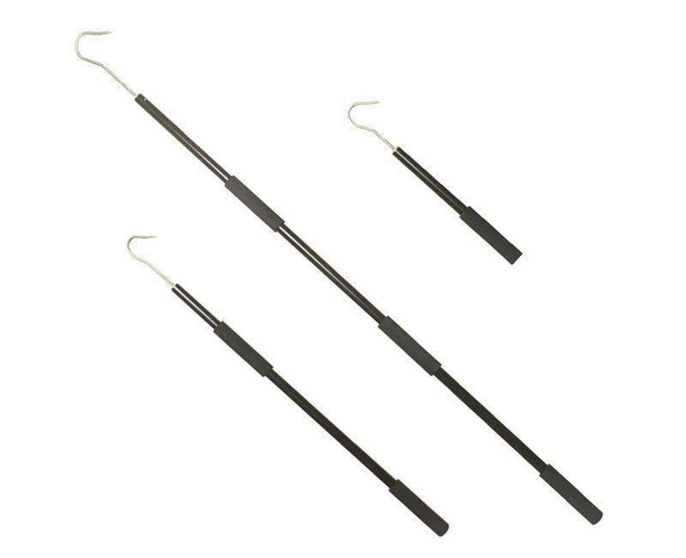 3 /& 5 Reel Power Handles 2 Floating Aluminum Heavy Duty Gaff w//Stainless Steel Hook Rated 100#