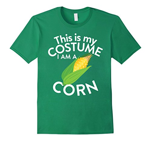 Corn Costume (Mens This Is My Costume I'm A Corn T-shirt Corn Lovers Small Kelly Green)