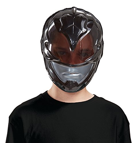 Disguise Black Power Ranger Movie Mask, One Size -