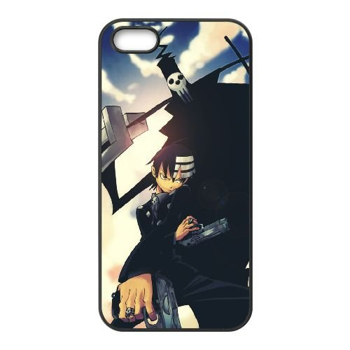 K3P35 shinigami et chevreau D6M2PR coque iPhone 4 4s cellule de cas de téléphone couvercle coque noire KU3DPI1QL