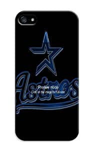 LarryToliver Customizable Baseball Houston Astros iphone 5/5s Cases Hard Case / Cover