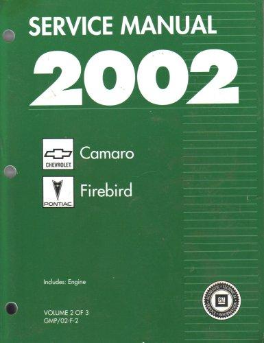 2001 firebird owners manual