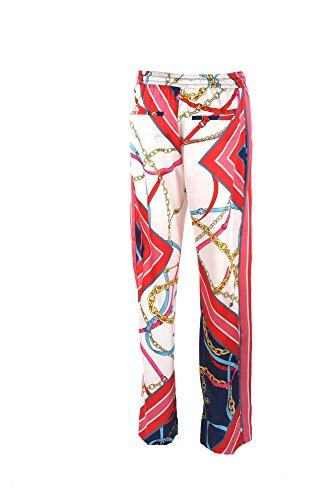 Primavera Estate Paula Blu rosso Pinko Donna 2018 Pantalone 46 qSwnYF0