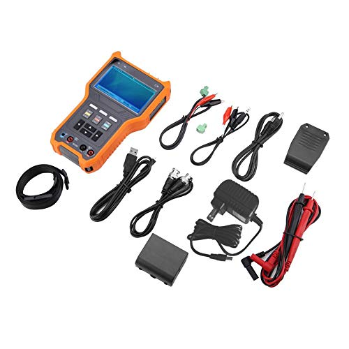 (Walfront High-definition Monitoring Tester, DT-N73 Multi-function 4 in 1 Digital 4.0 Inch LCD HD Combine Tester AC 100-240V for CVI TVI 8MP & AHD 5MP Analog Camera Video Tester(US Plug))