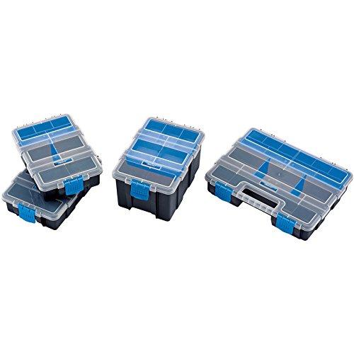 Draper 6087 Lot 4 boîtes de rangement avec compartiments
