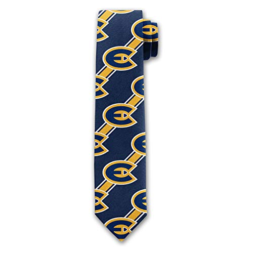 Official NCAA UW-Eau Claire Blugolds Mens Fashion Novelty Necktie Ties ()