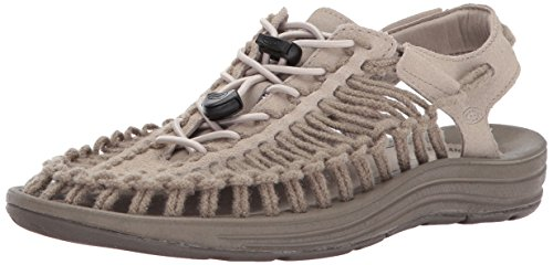 low price fee shipping online very cheap cheap online KEEN Women's Uneek Leather-w Sandal Plaza Taupe/Brindle Sc MZC8A7nP