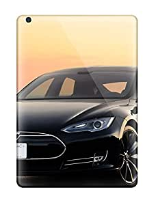 Anti-scratch And Shatterproof Tesla Model S 7 Phone Case For Ipad Air/ High Quality Tpu Case