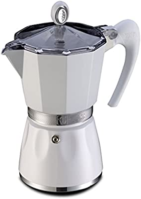 G.A.T. 2790000080 - Cafetera italiana, color Blanco: Amazon.es: Hogar