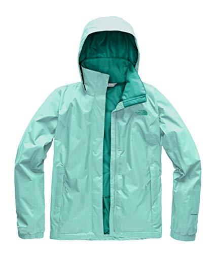 Womens Explorer Jacket - The North Face Women's Resolve 2 Jacket - Mint Blue & Kokomo Green - XS