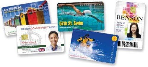 Low Coercivity Mag Stripe - Zebra Premier PVC Card, 30 mil Low Coercivity Mag. Stripe (5 packs x 100)