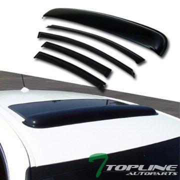 Topline Autopart Sunroof Deflector 2011 2014