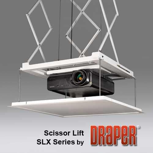 Scissor Lift Slx21 110 V Draper Scissor Projector Lift