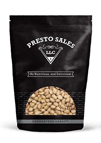- Pistachios, In shell Roasted salted California (1 lb.) by Presto Sales LLC