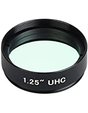 Astronomical Telescope Filter 1.25 Inch 31.7mm Filter UHC Light Pollution Inhibition Lens for Astronomical Telescope Monocular Eyepiece Lens