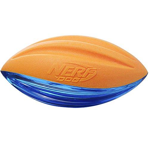- Nerf Dog 3221 Large TPR/Foam squeak football, Pet Squeak Toy