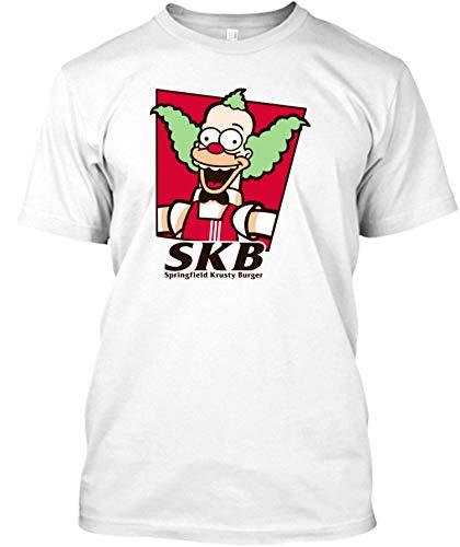 Springfield Crusty Burgers - The Simpsons Tshirt - Men's Woman Funny Novelty T-Shirt-Sweatshirt-Hoodie Black]()