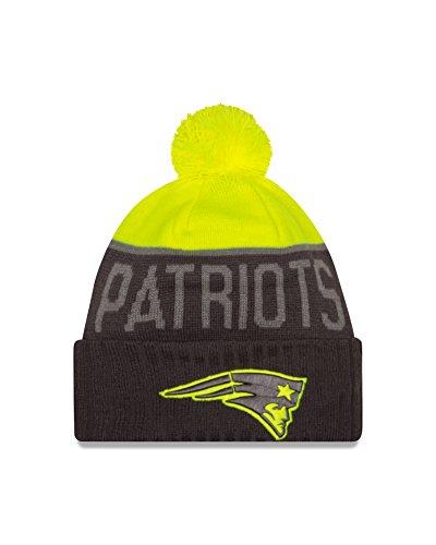 NFL New England Patriots 2015 Upright Sport Knit, - New Era 2014 Patriots Knit Hat
