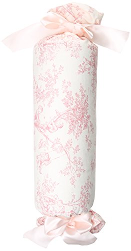 Glenna Jean Isabella Pillow Roll, Pink/Cream