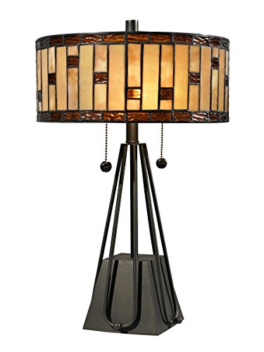 (Dale Tiffany STT13011 Mojave Table Lamp, 19