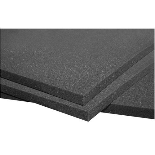 Auralex PLATSHEET Platfoam Sheets in Box of 8- 2'x4'x1 Panels in Charcoal Only