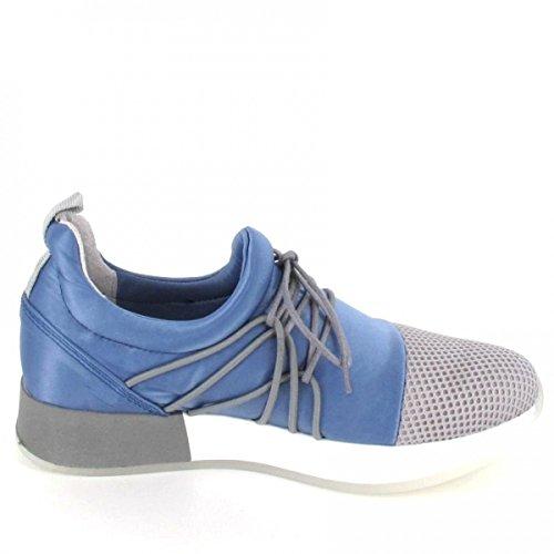Bronx Sneaker BSHIMMERX, Farbe: Blue/Grey