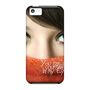 Ultra Slim Fit Hard Flower's Town Case Cover Specially Made For Iphone 5c- Your Love In My Eyes