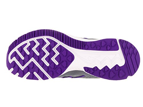 Nike Donna Zoom Winflo 3 Scarpa Da Corsa Cool Grey / Palest Purple / Fierce Purple