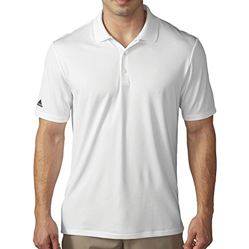 adidas Golf Men's Performance Polo, White, - Shirts Adidas Climacool Polo