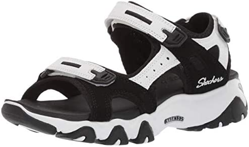 Izar Pera Puede ser calculado  Skechers Womens 32999 D'Lites 2.0 - Kilowatt - Fisherman Sandal White Size:  8: Amazon.com.au: Fashion