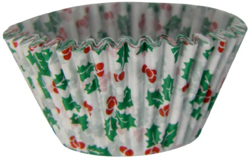 Regency Wraps Holly Texas Baking Cups, 25-Count