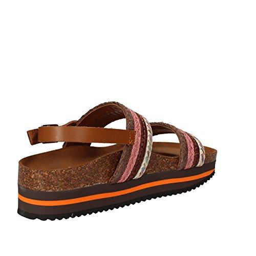 5 PRO JECT Mujer zapatos con correa Rosa/Marrone