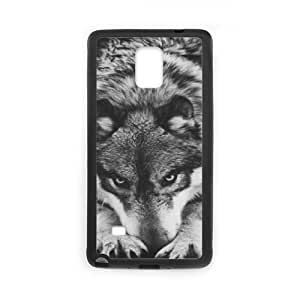 Wolf DIY Phone Case for Samsung Galaxy Note 4 LMc-23536 at LaiMc