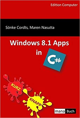 Windows 8.1 Apps in C