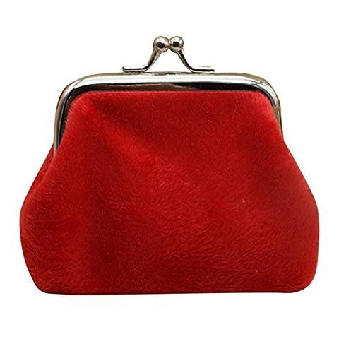 Women's Wallet Purse, Corduroy Wallet Purse ID Credit Card Clutch Phone Holder Case (Red) - Corduroy Womens Shoulder Bag
