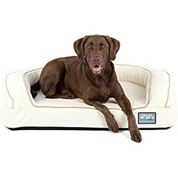 Amazon Com Buddyrest Romeo Orthopedic Bolster Dog Bed 1