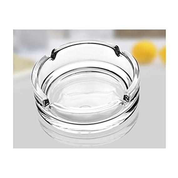 Incrizma Glass Ashtray (Transparent)