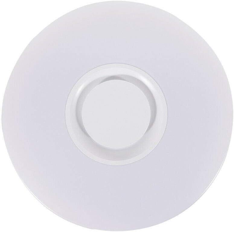 36W, 1 PCS Brillo Ajustable Funci/ón Memoria Tiempo ALLOMN Luz de Techo del LED L/ámpara de Techo de M/úsica Bluetooth Luz de Cambio de Color RGBW Regulable con Altavoz Bluetooth Control Remoto APP