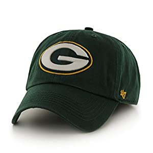Green Bay Packers NFL Green Franchise Fitted Baseball Cap Hat by LSG