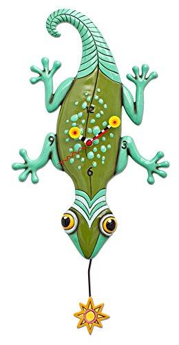 Allen Designs Sun Lizard Pendulum Clock (Lizard Clock)