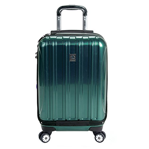 Trolley Spinner Expandable On Carry - DELSEY Paris Delsey Luggage Helium Aero International Carry On Expandable Spinner Trolley 19\ (Teal)