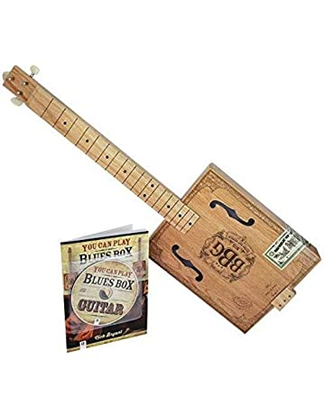 Hinkler 4 String Electric Blues Box Slide Guitar Kit (EBB)