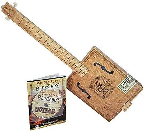Kit de caja de marea Hinkler Electric Blues Slide Guitar: Amazon ...