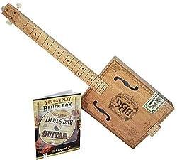Hinkler 4 String Electric Blues Box Slide Guitar Kit (EBB)