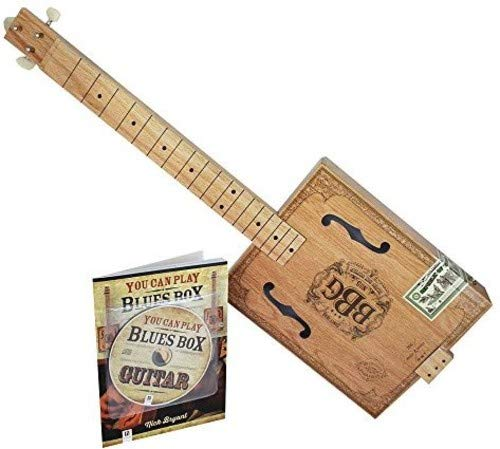 (Hinkler 4 String Electric Blues Box Slide Guitar Kit (EBB))