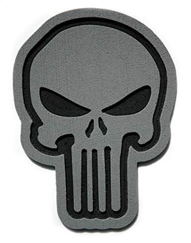 Toejamr Snowboard Stomp Pad - Sniper Skull - Gray (Canada Stomp Pad)