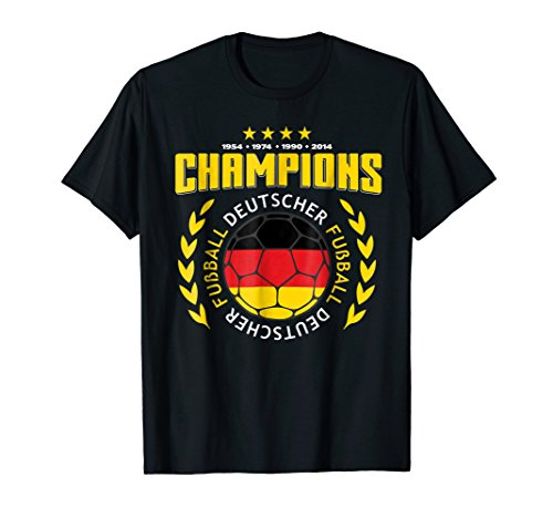 World Cup Champs - 2018 Germany Soccer Champ Team Shirt World Jersey Cup TShirt