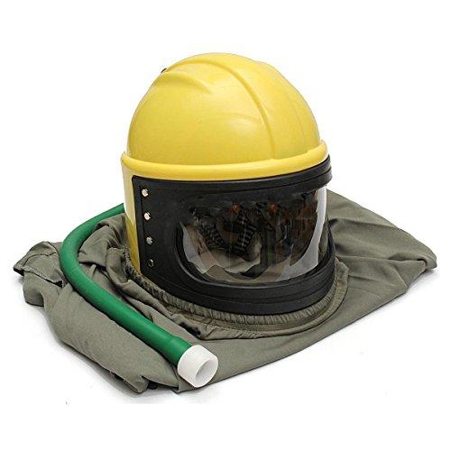 AIR FED Safety Sandblast Helmet Sand Blast Hood Protector for Sandblasting by BIC (Image #5)