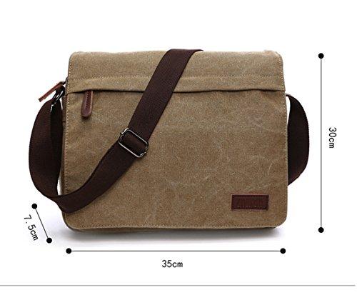 a borse ENKNIGHT tracolla per donna da tracolla da Borsa l viaggio nylon Khaki in con wqw48